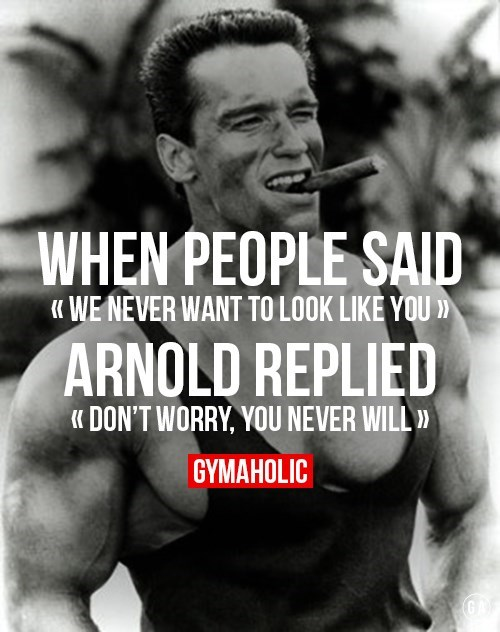 DYEL workout fitness exercise Arnold Schwarzenegger lifting - 8314709504