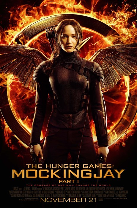 hunger games mockingjay katniss everdeen poster jennifer lawrence - 8314760192
