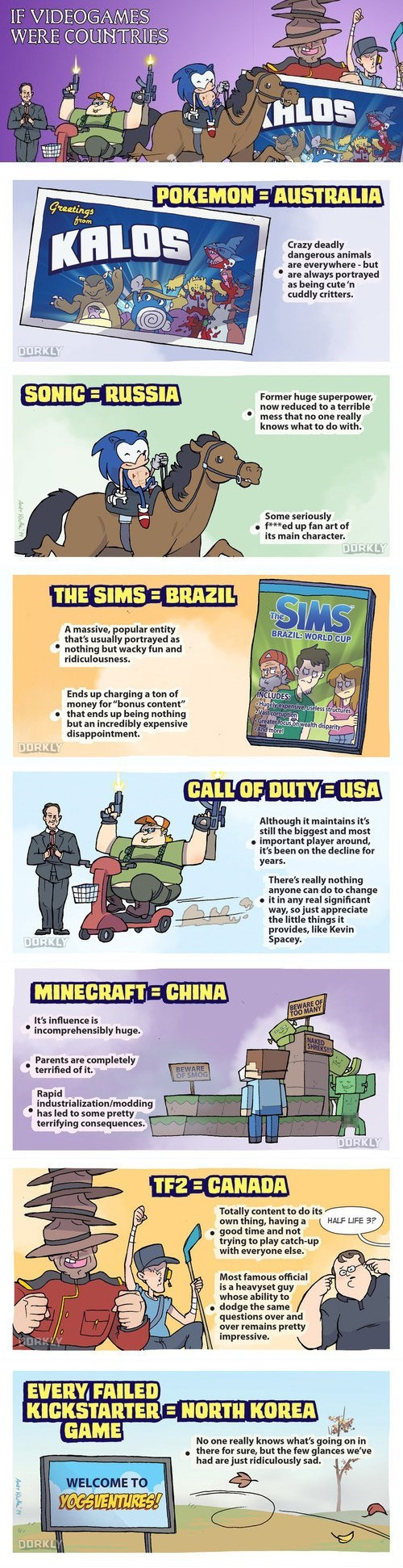 dorkly,video games,web comics