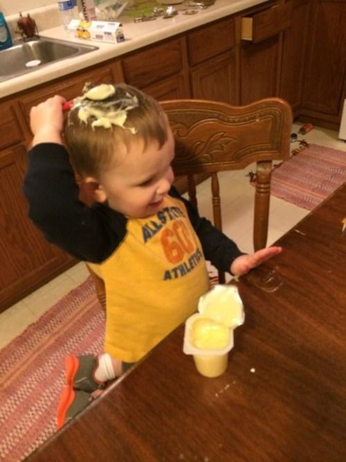 kids pudding parenting - 8314781184