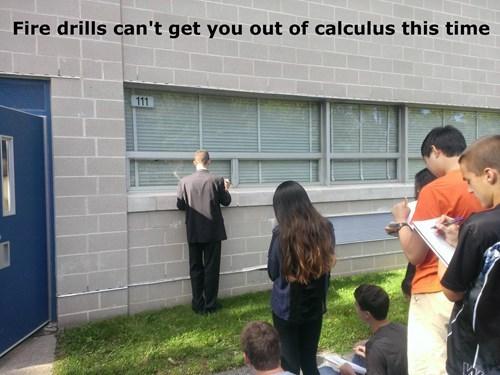 fire drill,calculus,school