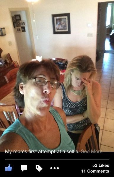 duckface mom parenting selfie - 8314963456