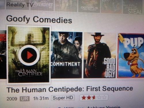 netflix the human centipede