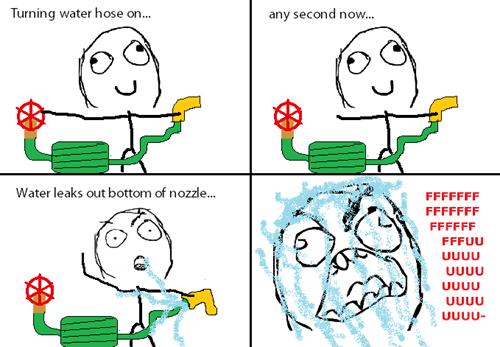 rage,hose