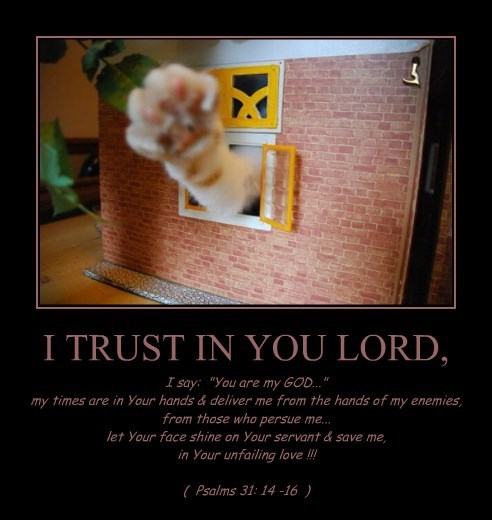 I TRUST IN YOU LORD,
