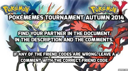 autumn Pokémemes tournament - 8315567104