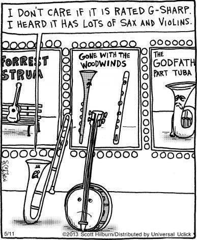 band puns Music web comics