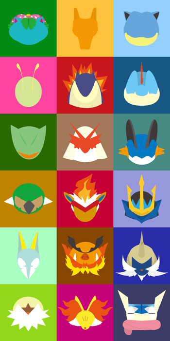 mega evolutions,Fan Art,6th gen