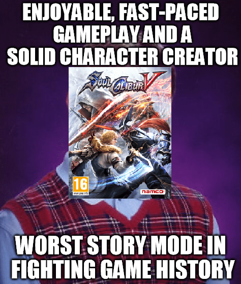 bad luck,Soul Calibur