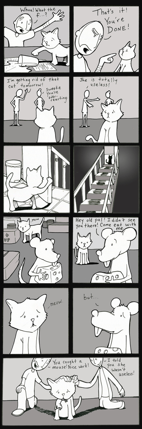 sad but true mice Cats web comics - 8315885568