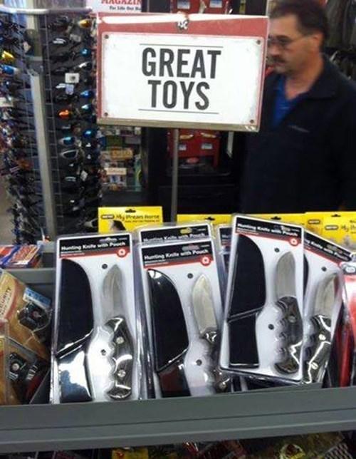 knives,toys