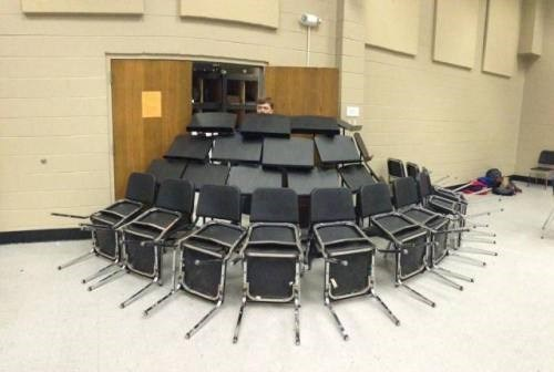 band school prank trapped music stand g rated School of FAIL - 8315947008