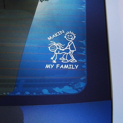 bumper stickers trashy - 8315982336