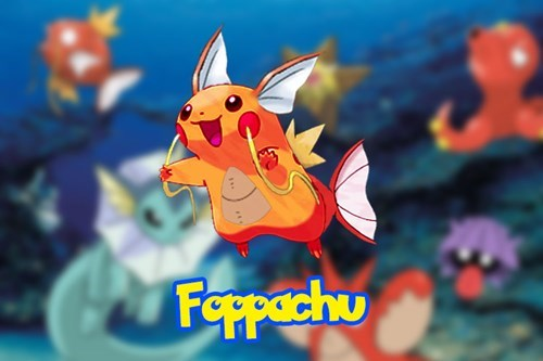 magikarp,pikachu,foppa
