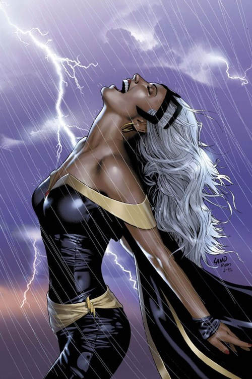 storm art Straight off the Page