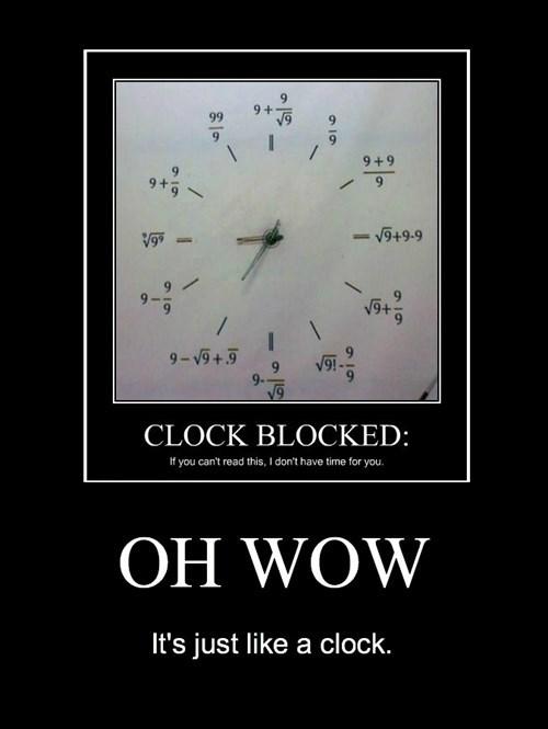 WoW idiots clock funny - 8316324352