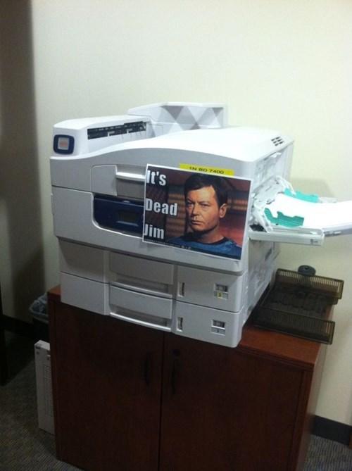monday thru friday sign Star Trek printer g rated - 8316677376