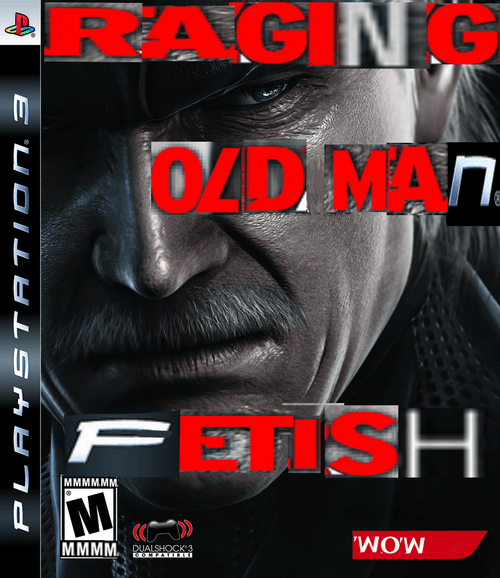 Fetish,metal gear solid,ps3