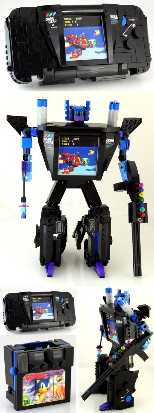 transformers game gear sonic - 8316709632