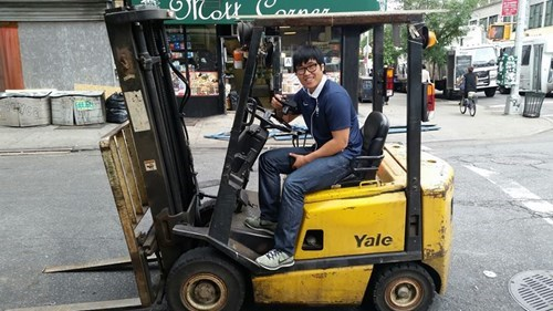 fork lift Yale funny college g rated School of FAIL - 8316834304