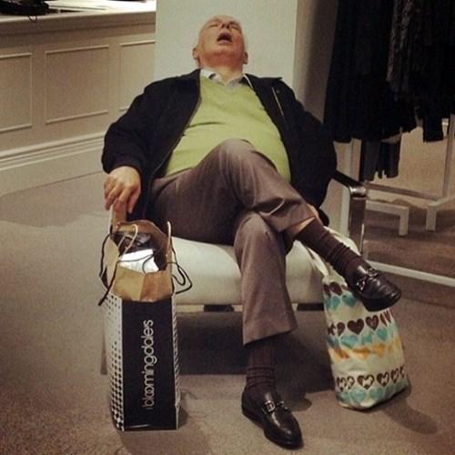 men shopping wife husband funny - 8316836096