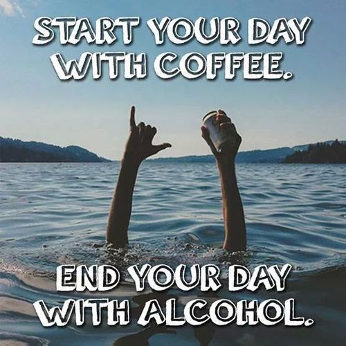 beer alcohol coffee funny - 8316891648