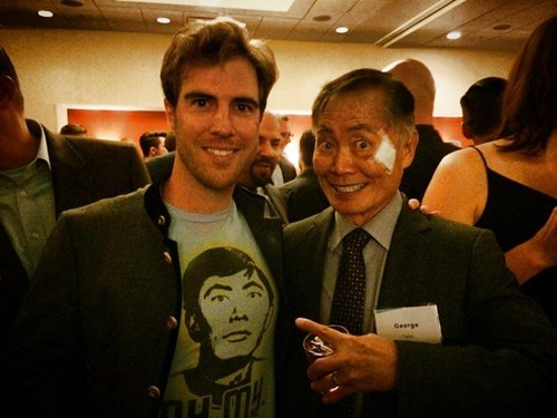 nerdgasm,shirt,Star Trek,george takei
