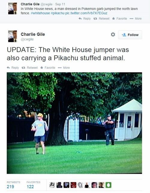 twitter White house pikachu prank politics fail nation g rated - 8316984832