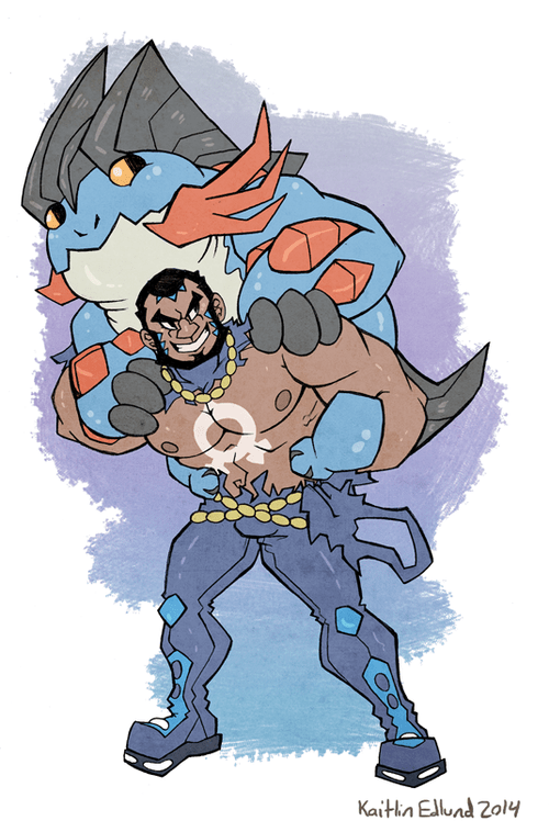 do you even lift team aqua mega swampert