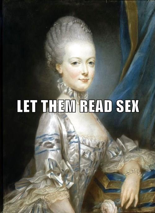 LET THEM READ SEX