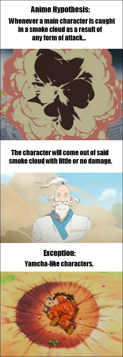 anime Dragon Ball Z smoke - 8317688064