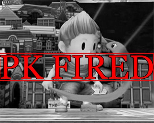fired,super smash bros