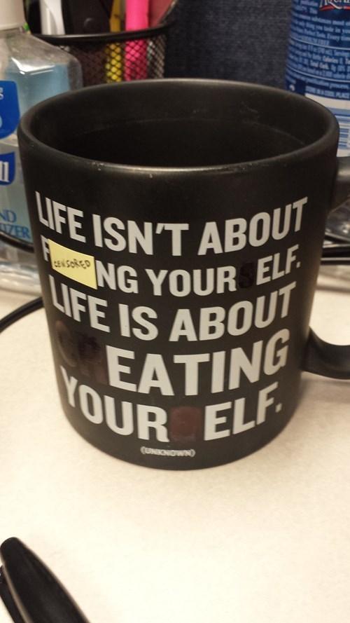 monday thru friday coworkers mug - 8317924608
