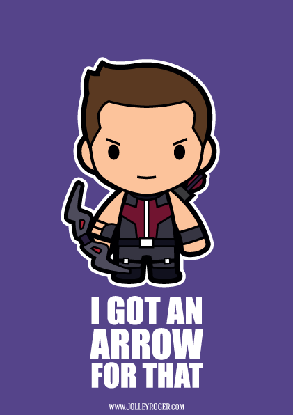 arrow be prepared hawkeye - 8318502912