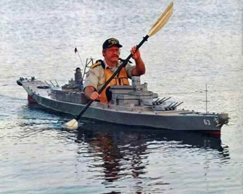 battleships kayak