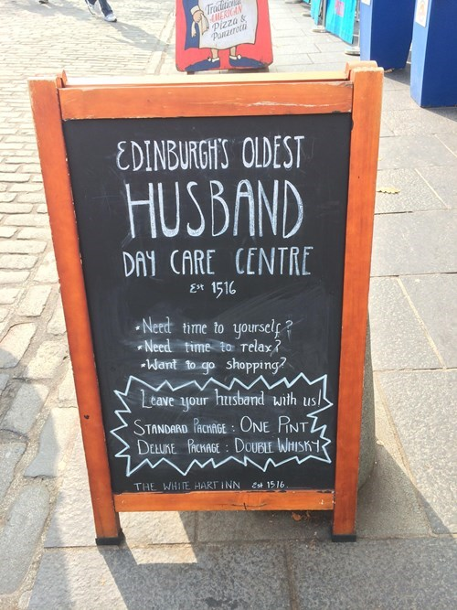 edinburgh scotland husband pub funny after 12 - 8318787072
