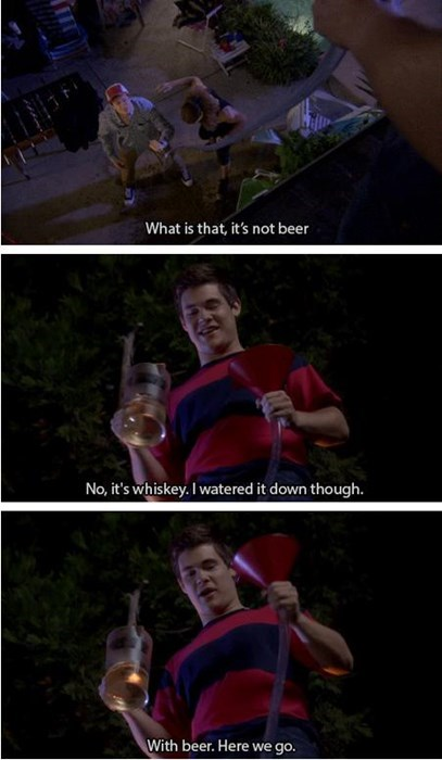 whiskey beer bong funny - 8318795264
