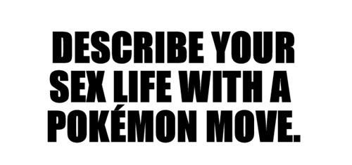 Pokémon,smexy times