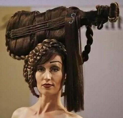 hair poorly dressed hairstyle - 8319189760
