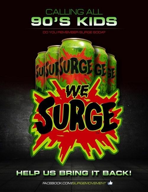 surge soda nostalgia coca cola - 8319190016