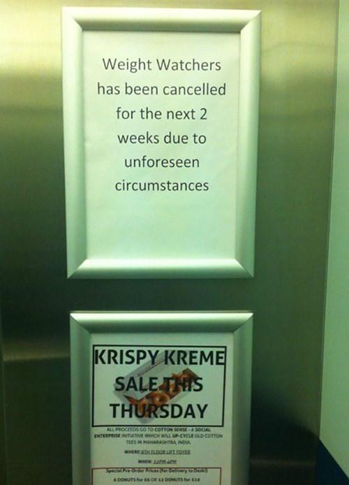 donuts krispy kreme weight watchers - 8319275520