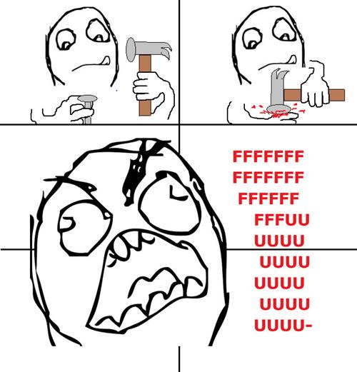rage pain nail