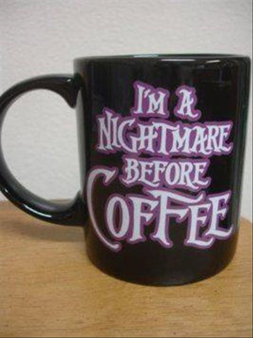 monday thru friday the nightmare before christmas coffee mug - 8319323648