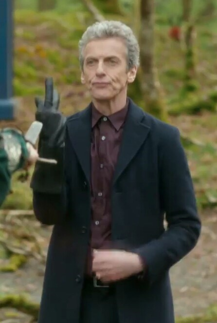 behind the scenes 12th Doctor - 8319344384