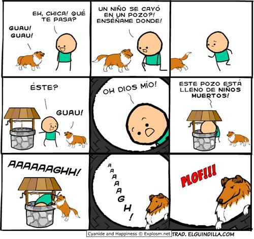 gatos bromas viñetas perros - 8319421184
