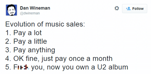 u2 Music twitter ipod iTunes iphone failbook - 8319517440