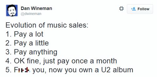 u2 Music twitter ipod iTunes iphone failbook - 8319517440
