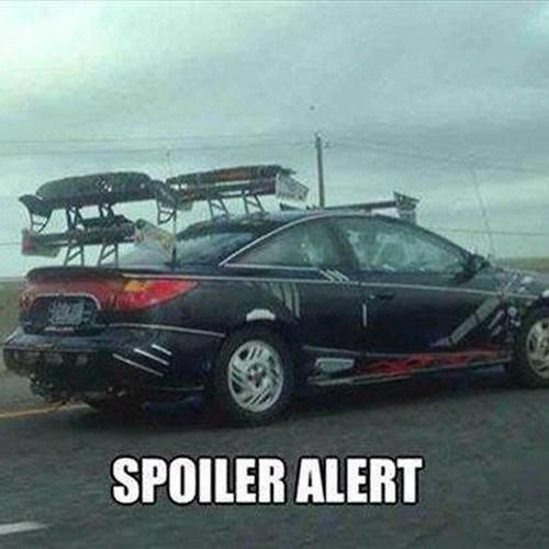 spoilers puns cars - 8319517696