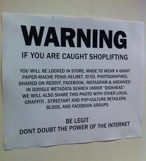 warning sign thief failbook g rated - 8319524096