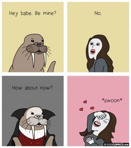 halloween vampires twilight walrus web comics - 8320003072